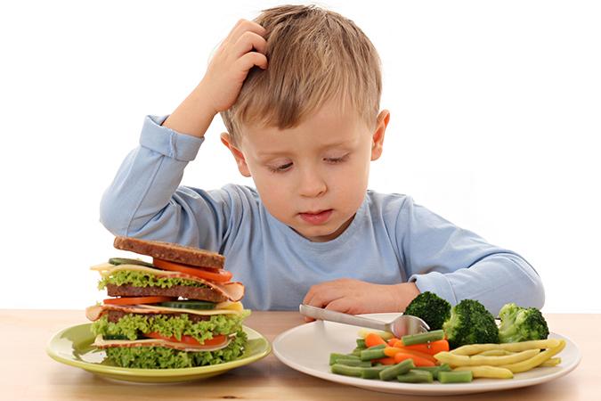 Рациональное питание детей