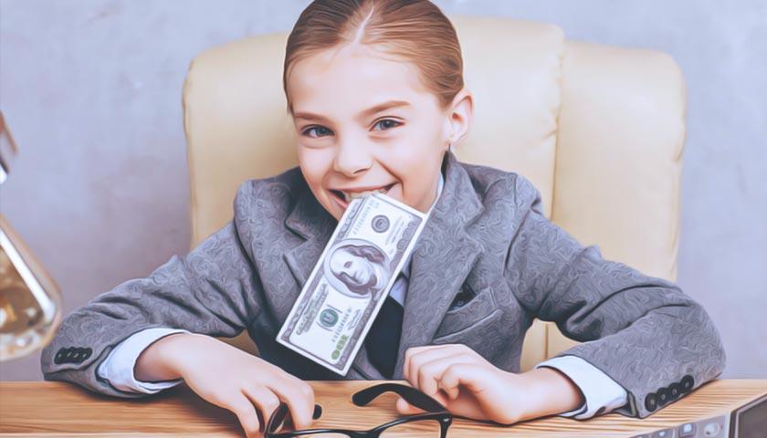 Как давать карманные деньги ребенку