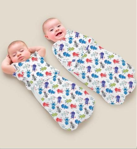 Как пеленать новорожденного ребенка свободным способом