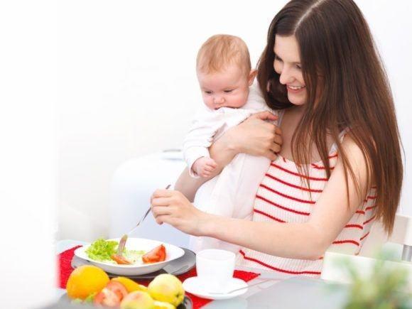 Что кушать при грудном вскармливании