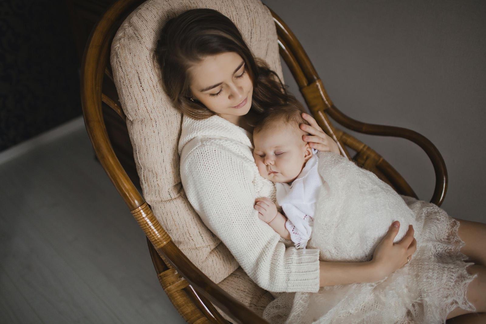 Продолжительность ночного сна у новорожденного